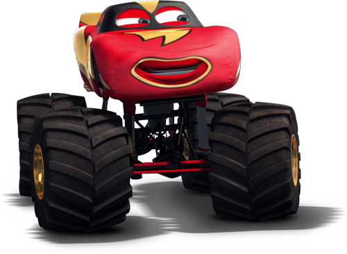 Red cars disney wiki fandom powered by wikia - Image Monster Truck Mater Mcquee12 Png World Of Cars