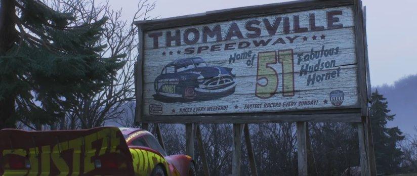 Thomasville Speedway World Of Cars Wiki Fandom Powered