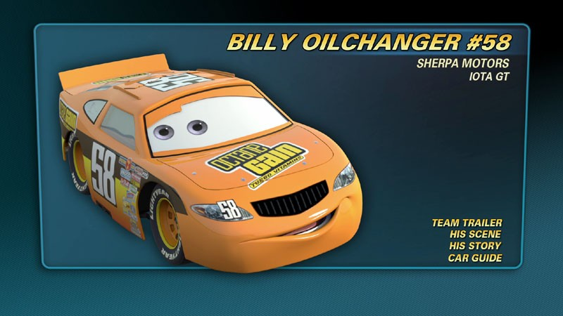 Billy Oilchanger World Of Cars Wiki Fandom Powered By