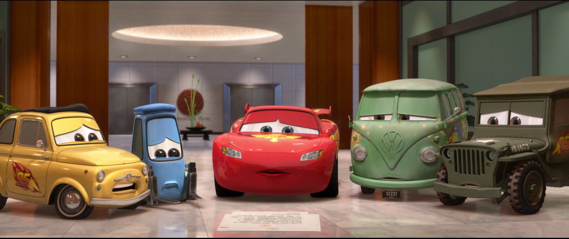 Image result for cars 2, sad
