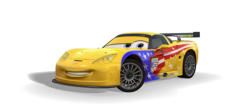 Cars 2 International Racers Line-up