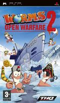 Worms Open Warfare 2 PSP Cover