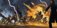 Battle of Dumai's Wells