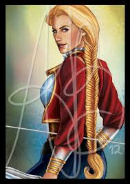 File:Birgitte Silverbow by Ariel Burgess, Official Wheel of Time Artist.jpg