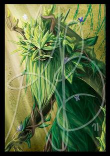 Wot the green man by reddera-d4fnelx