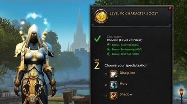 Level 110 Character Boost - World of Warcraft | Blizzard Shop