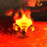Fissure-born Fire Elemental