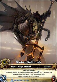 Warlord kalithresh tgc
