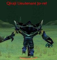 Qiraji Lieutenant Jo-rel
