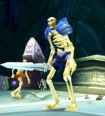 Raging Skeleton