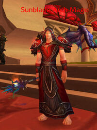 Sunblade Arch Mage