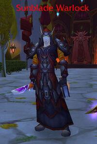 Sunblade Warlock