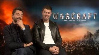 Dominic Cooper & Toby Kebbell on being an orc & a king in Warcraft The Beginning
