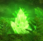 Green Power Crystal