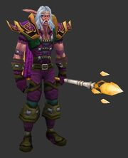Highborne with Padded Armor
