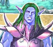 night elf form