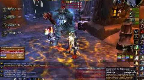 Paladin Tanking Heroic Utgarde Pinnacle part II - World of Warcraft