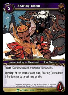 Searing Totem