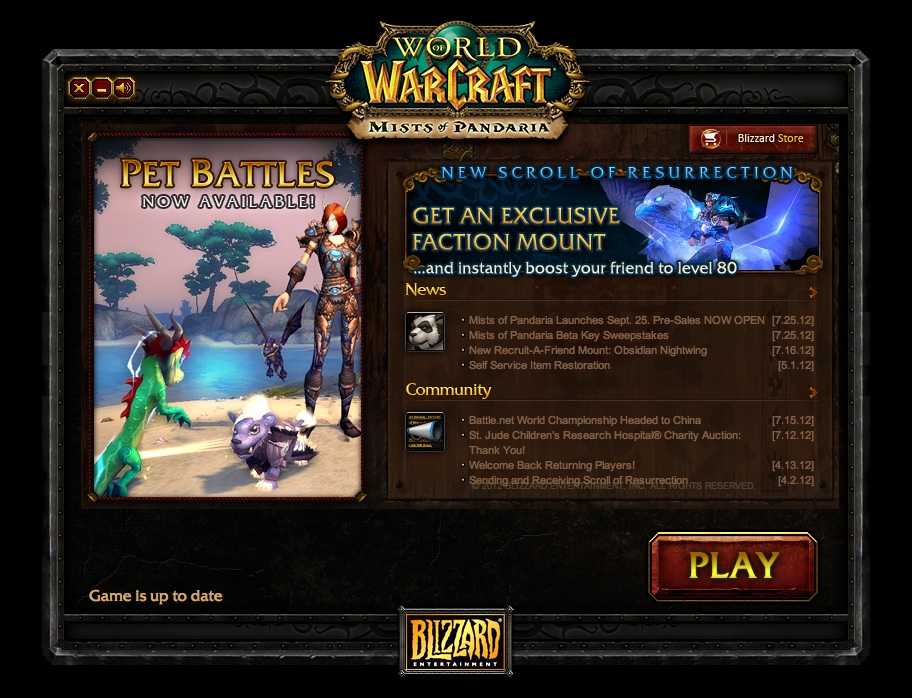 World of warcraft downloader not working
