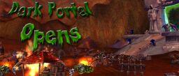 Dark Portal Sign