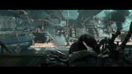 Legion cinematic Varian and the gunship scene3