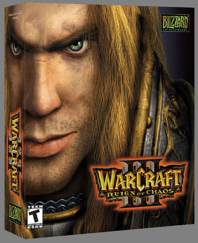 World of Warcraft Cover Cover Art For Warcraft Iii