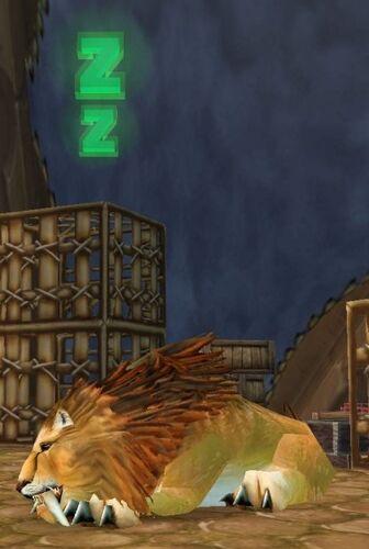 Stabled Kurenai Lion