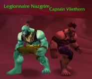 Legionnaire nazgrim prisoner