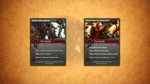 Lore For Noobs - Cairne Bloodhoof (Part 2)