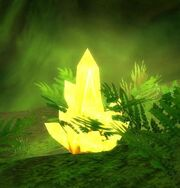 Yellow Power Crystal