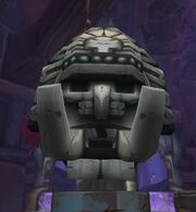 Drakkari Colossus head