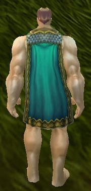 Phalanx Cloak, Grass Background, Human Male