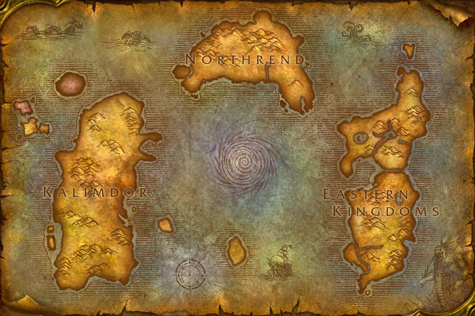 A wow style map of denmark x post mapporn wow blizzards maps usually contain them gumiabroncs Gallery