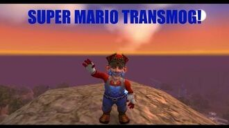 Super Mario Transmog World of Warcraft (And Luigi) - BEST TRANSMOG SET EVER?!