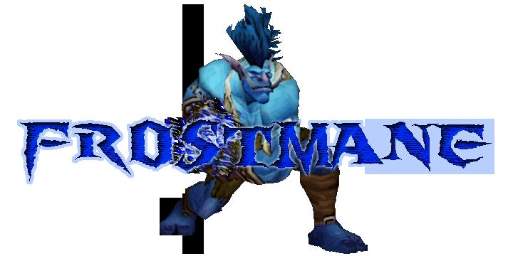 Frostmane logo redone