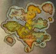 New Draenor continent1 map