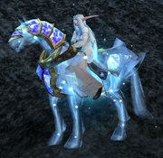 Celestial Steed Standing, Stone Background, NE Female