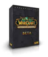 Mists of Pandaria beta box
