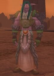 Fandral Staghelm The War of the Shifting Sands