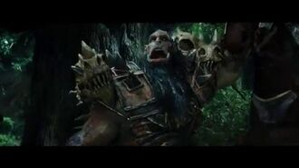 "WARCRAFT Movie Clip ""Lothar And His Soldiers Are Attacked By Orcs In The Woods"""