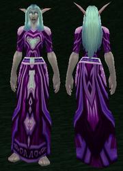 Robe of the Great Dark Beyond, Grass Background, NE Female