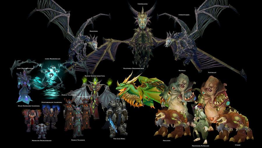 Icecrown Citadel bosses
