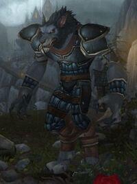Worgen Warrior furiouslooks