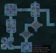 Sethekk Halls Map
