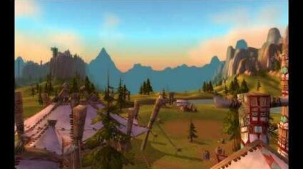 Mulgore & Thunder Bluff HD - World of Warcraft Cataclysm