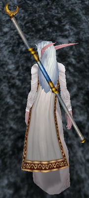Solstice Staff, Stone Background, NE Female