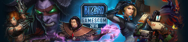 Blizzard gamescom 2016 banner