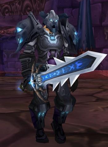 Dark Touched Warrior