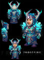 Frostfire Regalia gnome female