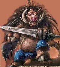Quilboar Art Blizzard Samwise